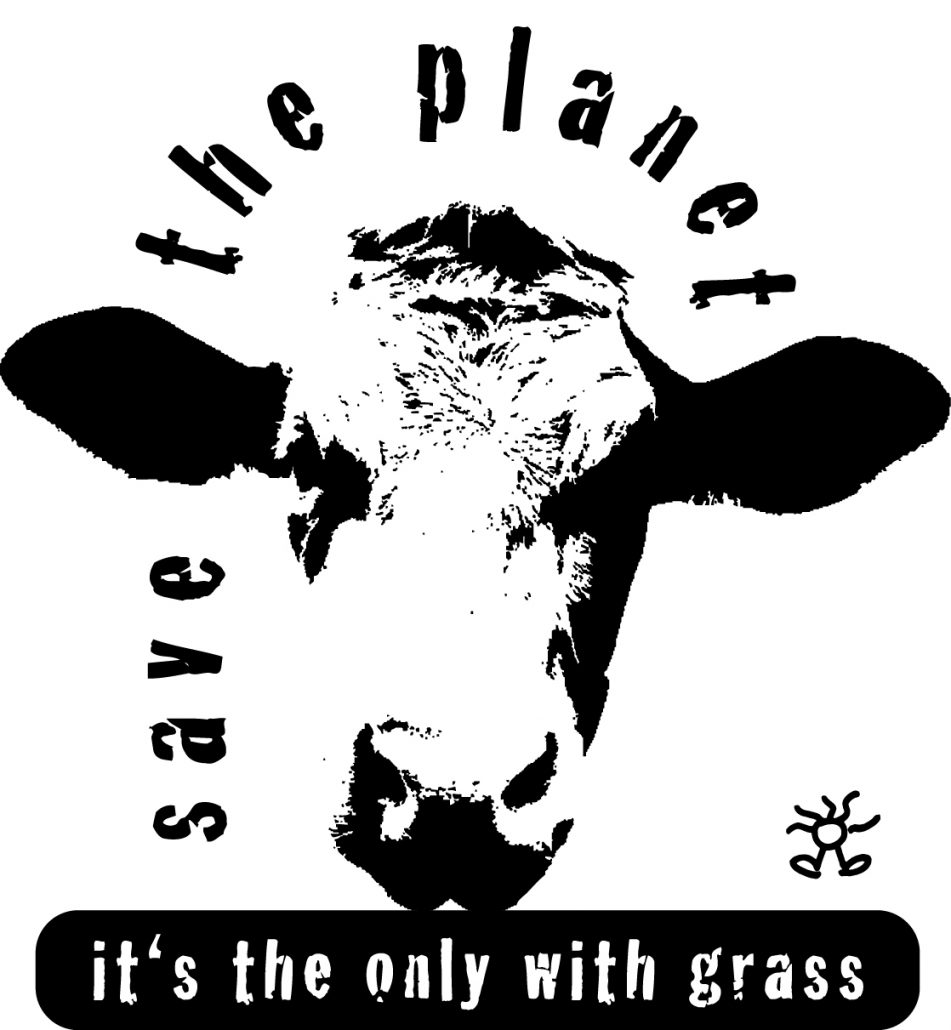 save the planet – it's the only with grass